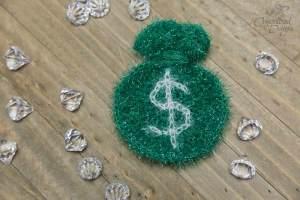 Money Bags Kitchen Crochet Scrubby Pattern