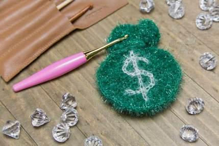 Money Scrubby Free Crochet Pattern