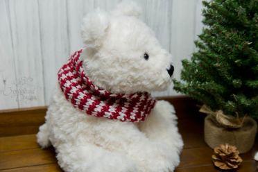 Polar Bear Crochet Animal Tail