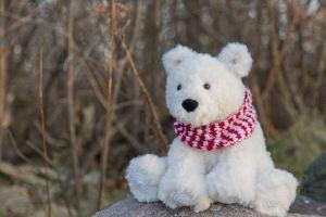 Polar Bear Crochet Pattern by Crystalized Designs