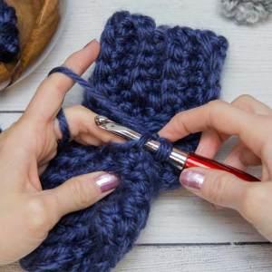 Thumb Crochet Tutorial step 6