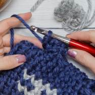 Thumb Crochet Tutorial step 7