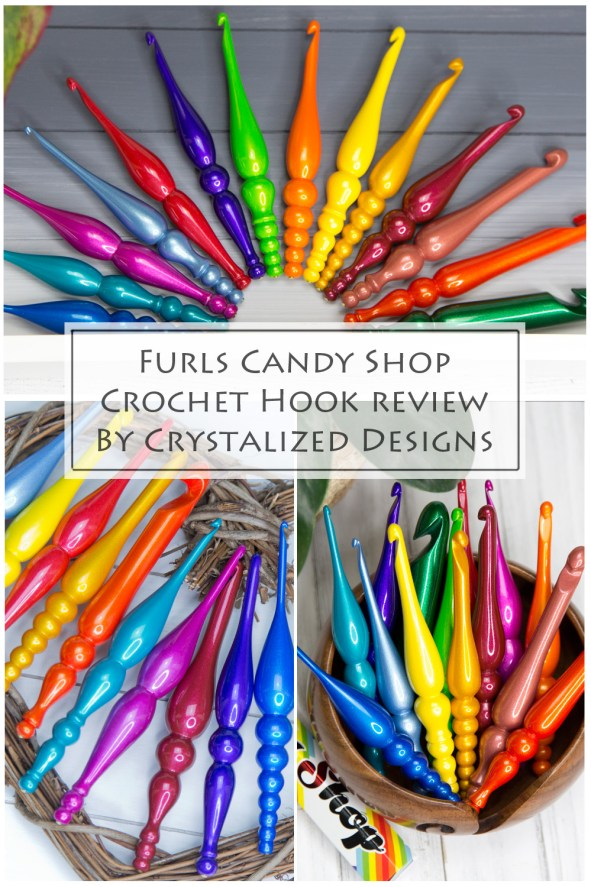 Candy Shop Crochet Hook Review Furls by Crystalized Designs