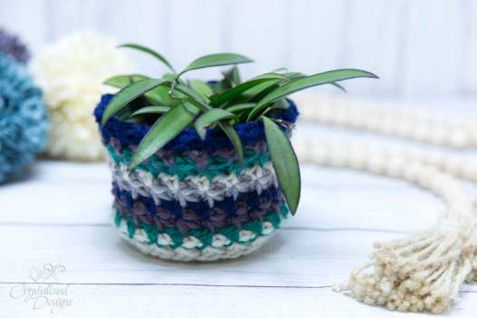 Plant Cover Free Crochet Pattern by Crystalized Designs