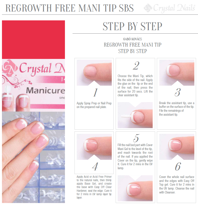 Regrowth Free Mani Tips