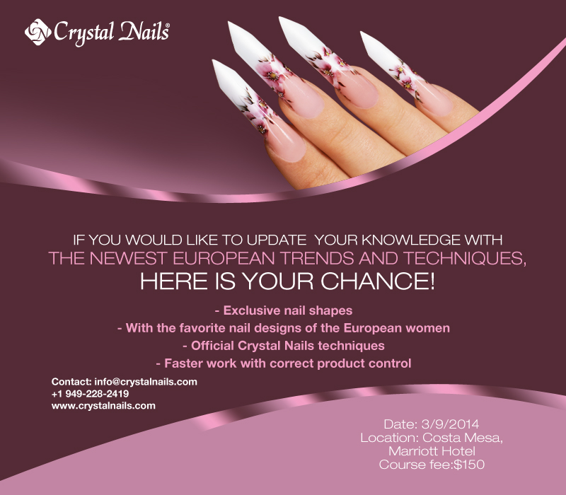 Advanced Nail Course S International Beauty Events