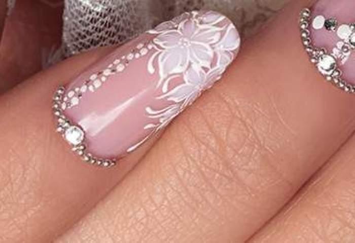 Crystal Nails Tendencias Vestidos Y Uñas De Novias Primavera