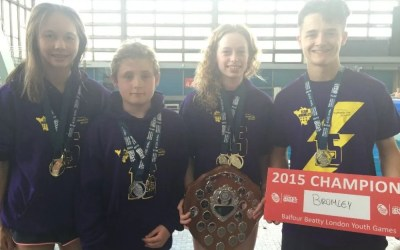 Young Palace Divers Shine at London Youth Games