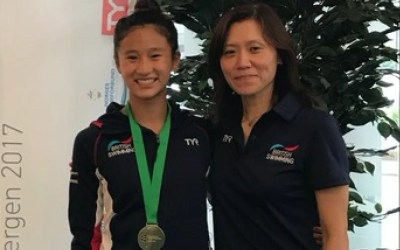Eden Cheng Wins Junior Europeans