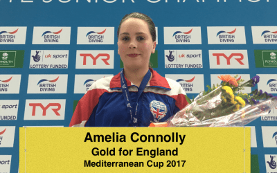 Amelia Wins Gold For England