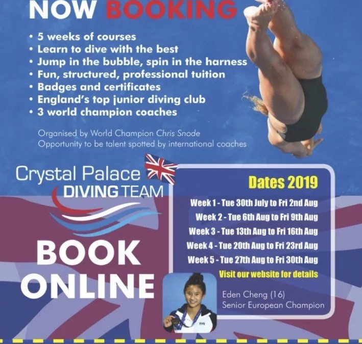 Crystal Palace Summer Courses – Book online now