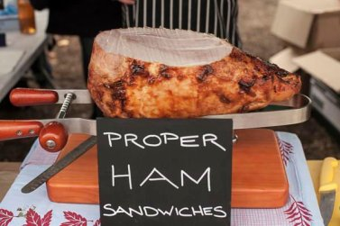 The Charcuterie Board: proper ham sandwiches