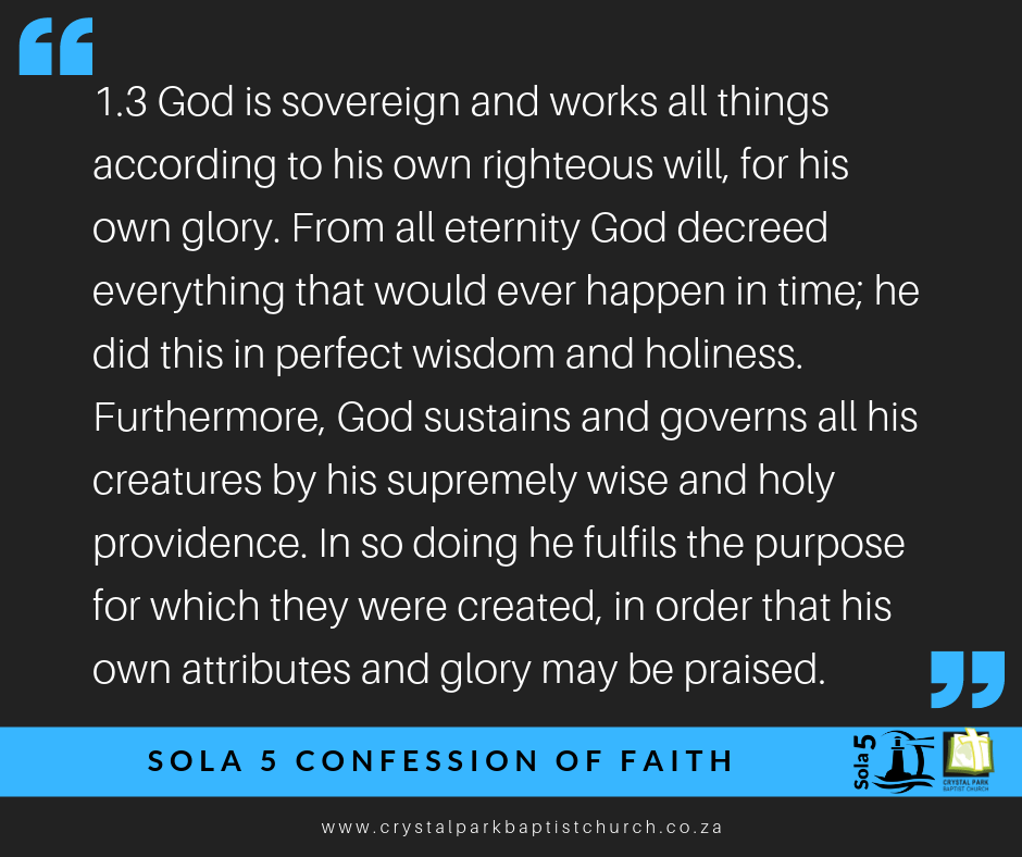 Sovereign God
