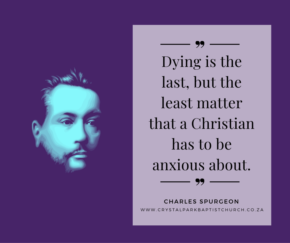 Dying in Christ