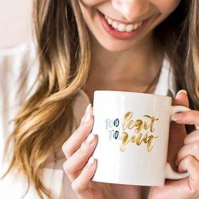To Legit Hand Lettering Mug