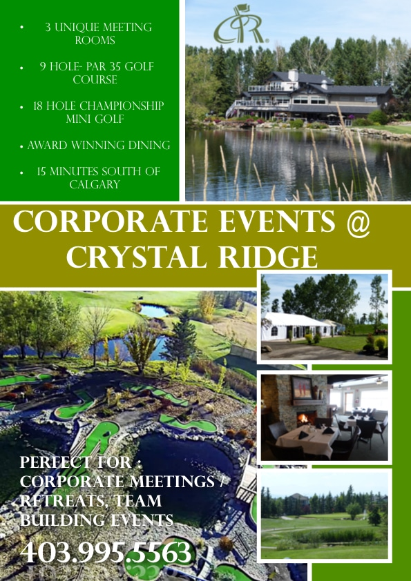 Crystal Ridge- LinkedIn Poster