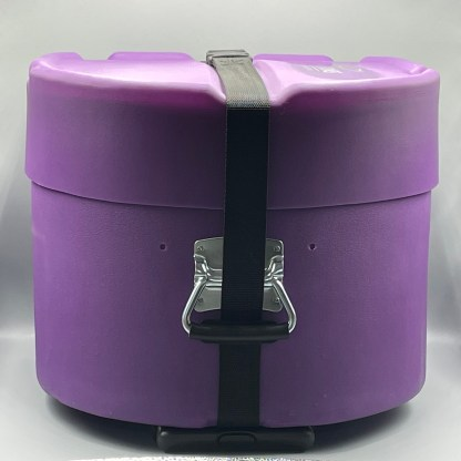 Purple Hard Case with Wheels