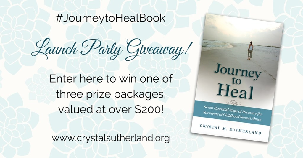 Journey to Heal Book Launch Giveaways