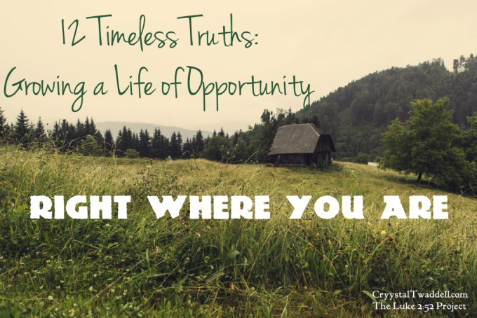 Discover Opportunity Right Where You Are