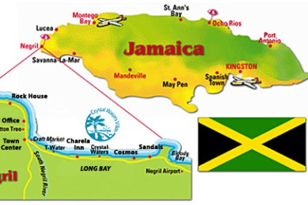map of jamaica parishes and capitals and resort areas » 4K Pictures ...