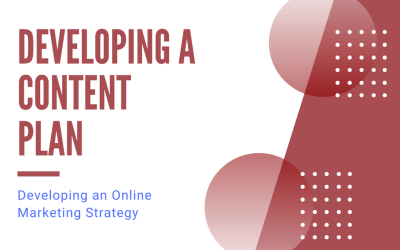 Developing an Online Marketing Strategy: Developing a Content Plan