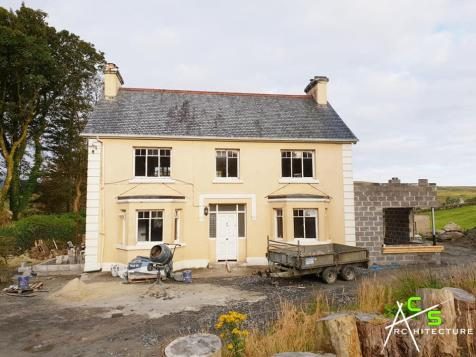 Renovation and extension underway in Carrick