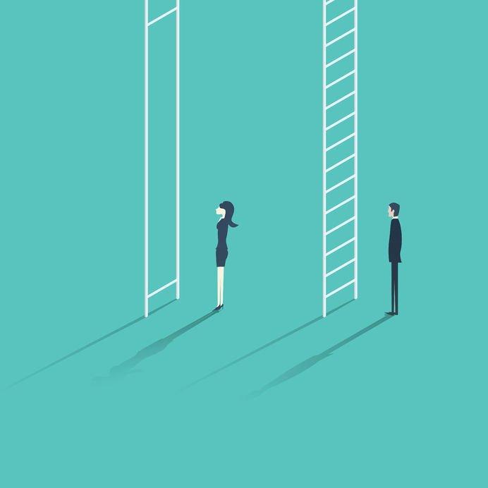 gender inequality at work Copyright : Jozef Mičic