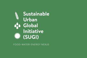 Sustainable Urbanisation Global Initiative (SUGI) Food-Water-Energy Nexus Logo - Source: [Author Unknown]. [Title Unknown]. Digital Image. [Source Unknown], [Date Published Unknown]