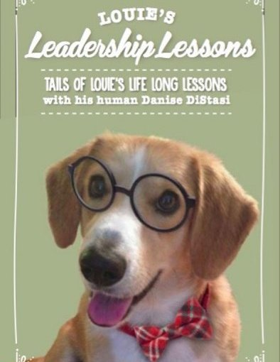 "Dog Louie Teaches and Practices ""Being"""