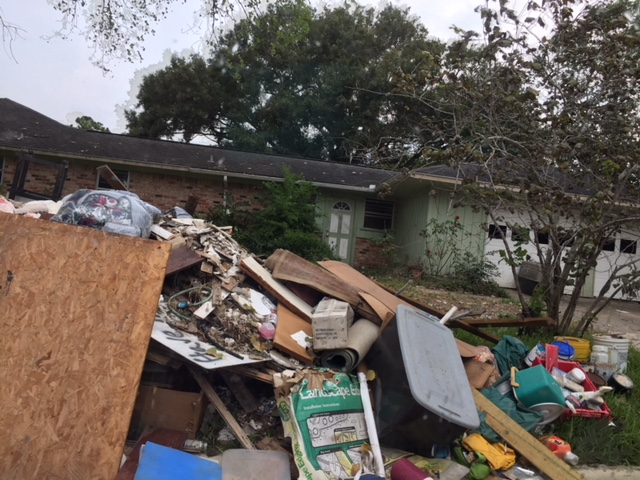 Samaritan's Purse and BG's RRT After Hurricane Harvey