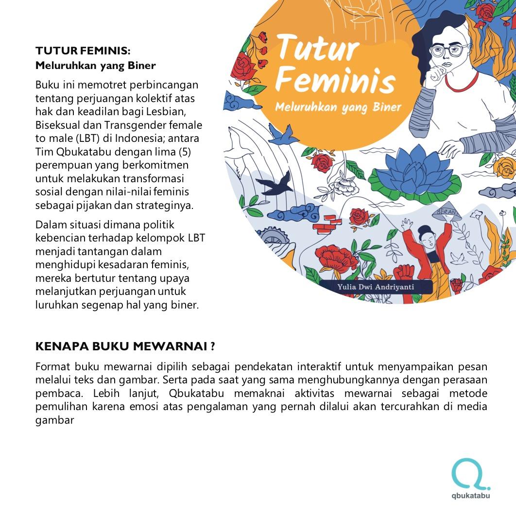 Tutur Feminis Meluruhkan Yang Biner Indonesian Feminist Voices