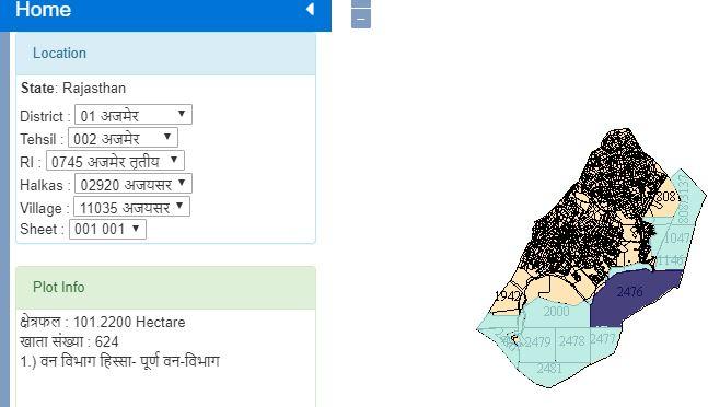 Rajsthan Bhu KHATA