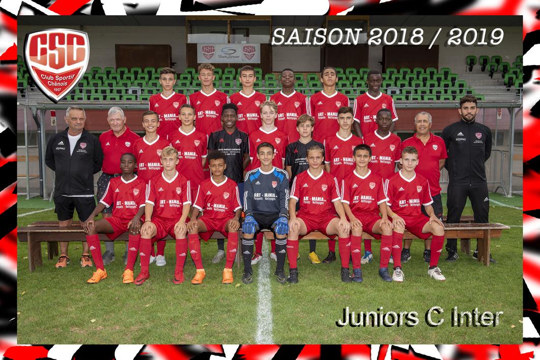 Juniors C Inter - Club Sportif Chênois