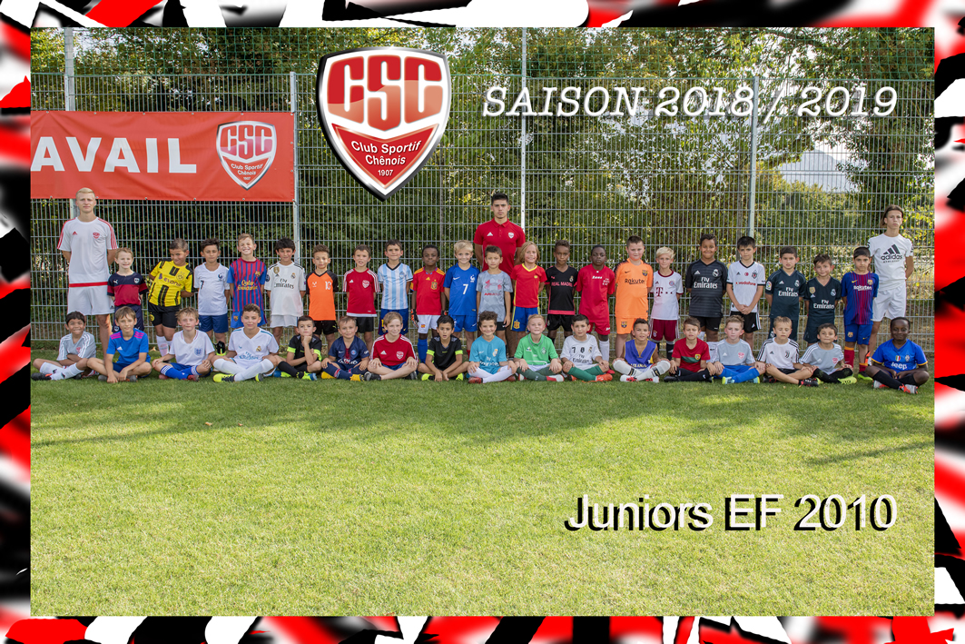Juniors Ecole de football 2010 (EF 2010) - Club Sportif Chênois