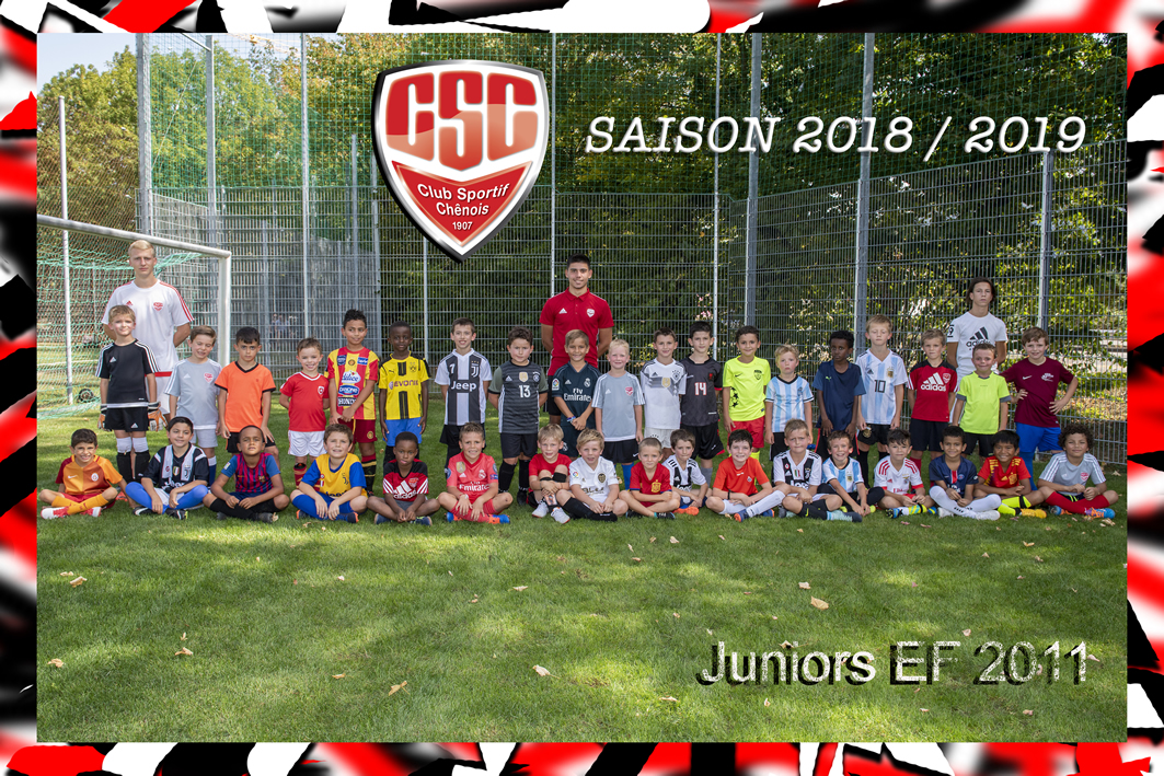 Juniors Ecole de football (EF 2011) - Club Sportif Chênois