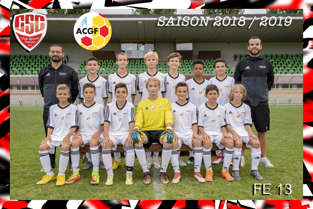 Juniors FootEco (FE13) - Club Sportif Chênois