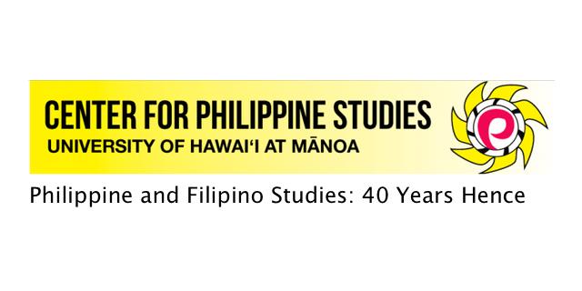 40th Anniversary Center for Philippine Studies - Center for Philippine Studies 40th Anniversary Events