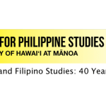 40th Anniversary Center for Philippine Studies - Center for Philippine Studies 40th Anniversary Events