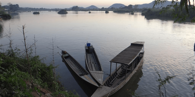 laos boats - Co-Sponsored Talk: Land Concessions and Resistance in Laos & Cambodia