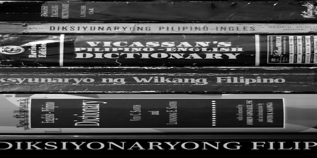 mga diksiyonaryo sharpened - Sexism in Philippine Language