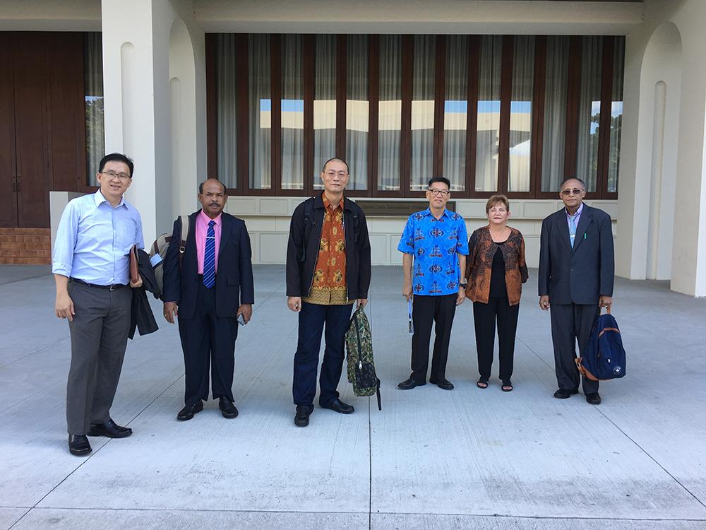 West Papua delegation group photo