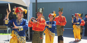 West Sumatra performers