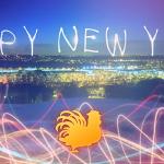 happy new year chicken