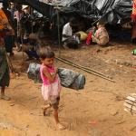 rohingya children in refugee camp