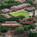 kapiolani community college aerial view