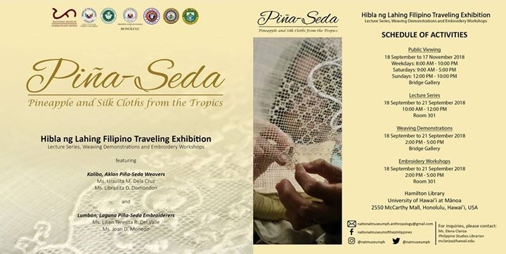 pina seda: Indigenous Filipino weaving