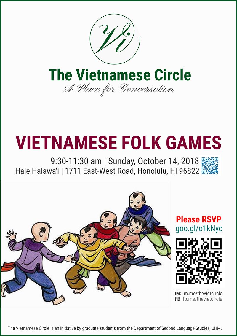 Vietnamese Folk Games poster