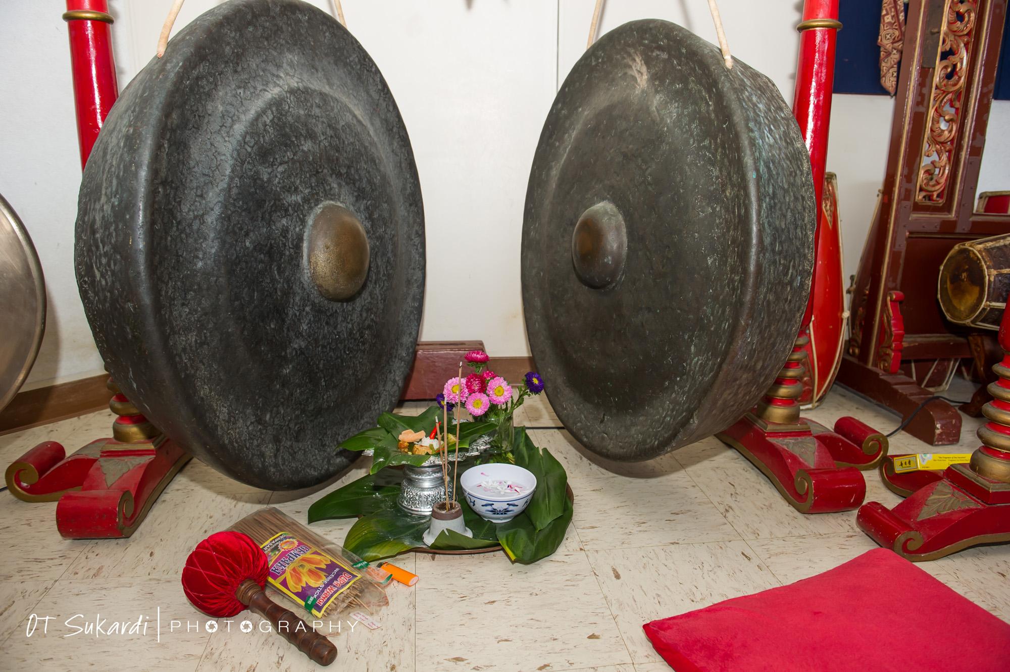 Gamelan gongs