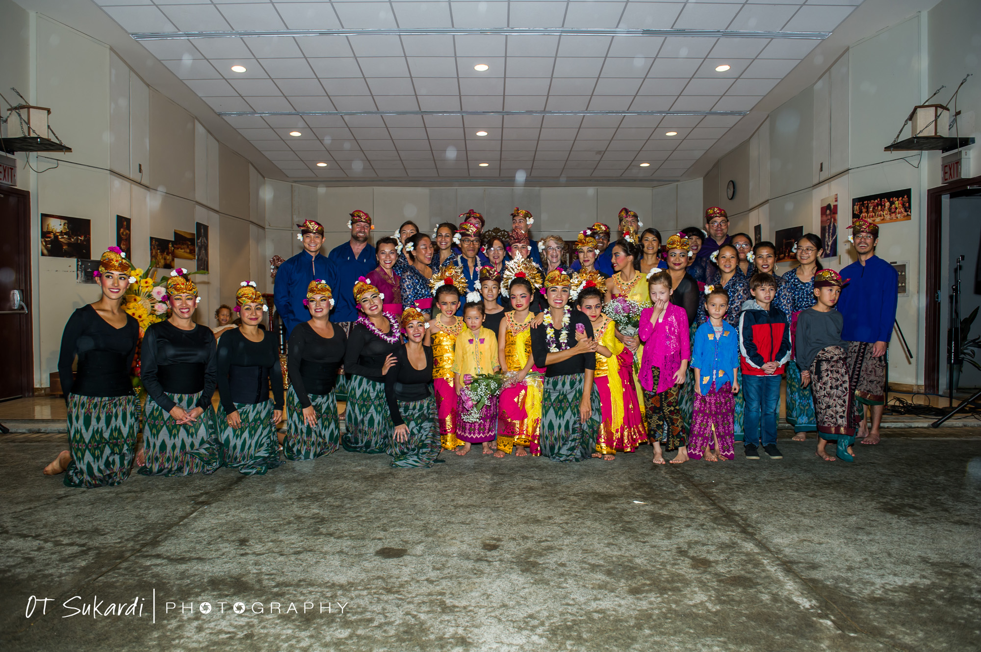 group photo of all performers