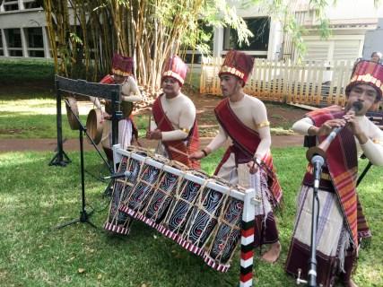Toba Batak (North Sumatra) musicians
